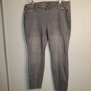 A.N.A Grey Skinny Jeggings size 18W